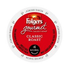 Folgers, Classic Roast, Medium Roast Coffee, Keurig K-Cups, 80-Count