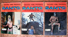 SANTO EL ENMASCARADO DE PLATA LOT OF 5 SPANISH COMICS MEXICO 1980