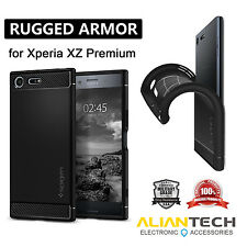 "Original Spigen Rugged Armor Case for Sony Xperia XZ Premium (5.5"")"