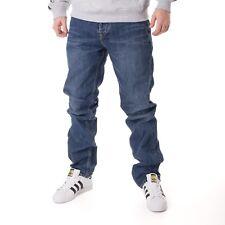 CARHARTT TEXAS Pant Azul Verdadero STON Pantalones Vaqueros Hombre 15657