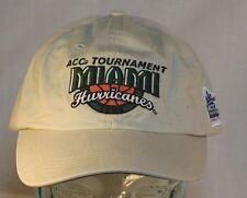 Miami Hurricanes Cap, ACC Tournament, Charlotte, NC. Hat