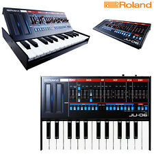 Roland JU-06 Synthesizer Boutique w/ Potable Keyboard K-25m l Authorized Dealer