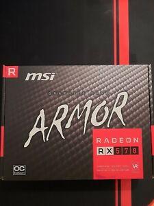 MSI Radeon RX 570 ARMOR 8GB (light use)
