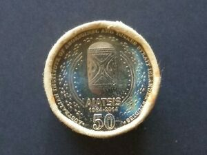 2014 Australian 50 cent AIATSIS Security Coin Roll, Nice condition