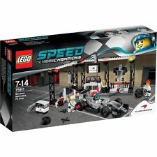 Lego 2015 Speed Champions McLaren MERCEDES Pit Stop 75911