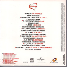 RARE CD balada 70s 80's COMO DESEO SER TU AMOR Elio Roca LEO DAN Carlos Lic4