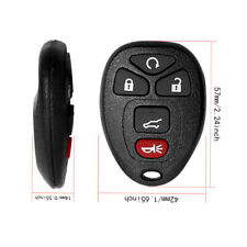 FINDAUTO 4X New Replacement Keyless Entry Smart Remote Control Key Fob fit for 07-14 Buick LaCrosse 14-14 Buick Enclave 07-13 Cadillac Escalade with FCC KOBGT04AA