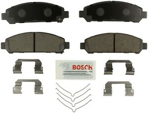 Disc Brake Pad Set-Bosch Blue Brake Pads with Hardware Front fits 09-16 Venza