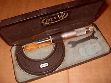 Moore & Wright 966m 25 - 50 Mm micrómetro-Como La Foto