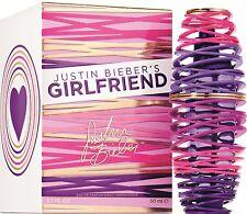 GIRLFRIEND By JUSTIN BIEBER'S WOMEN PERFUME SPRAY 1.7 OZ 50 ML NEW IN BOX