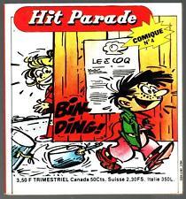 HIT PARADE COMIQUE POCHE n°4 # CORINNE ET JEANNOT # 1977 VAILLANT