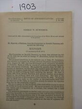 Government Report  1861 George W. Hutchinson Co. G 27th Regiment Indiana #1903