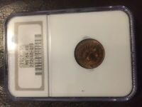 1907 Indian Head Cent Penny NGC MS64RB** Fantastic Luster