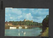 Vintage Colour Postcard  Arundel Castle & River Arun  Sussex posted 1960's