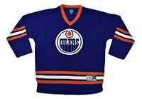 NHL Mens Edmonton Oilers Sewn Hockey Jersey NWT S/M, L/XL