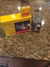 VINTAGE KODAK BROWNIE 8mm MOVIE CAMERA MODEL 2 w/ ORIGINAL BOX And Film