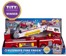 PAW Patrol Ultimate Rescue Fire Truck with Extendable 2 ft. Tall Ladder NEW