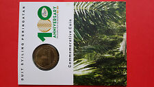 100th Anni Of Malaysia Palm Oil Industry 1917-2017 Nordic Gold ( B.U ) Coin Card