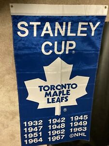 Toronto Maple Leafs STANLEY CUP FLAG