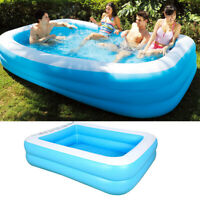 Large Inflatable Baby Swimming Pool Backyard Children Tub Pool Water Play