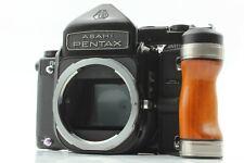 *N MINT* Pentax 6x7 TTL Medium Format Camera Wood Grip from JAPAN #26