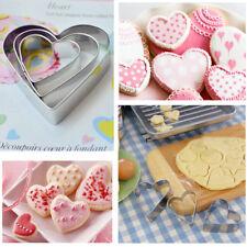 Lot de 3 emporte pièces Coeur Amour St Valentin Mariage Fiançailles Baptême