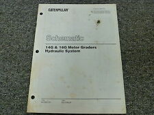 Caterpillar Cat 14G & 16G Motor Grader Hydraulic Schematic Diagram Manual