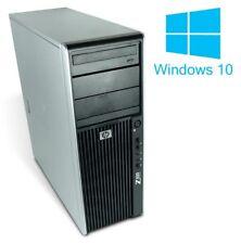 HP Z400 Workstation PC Intel Xeon 4x 3,07GHz 12GB 500GB Win10Home64Bit
