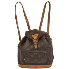 LOUIS VUITTON MINI MONTSOURIS BACKPACK HAND BAG MONOGRAM M51137 ga 33047