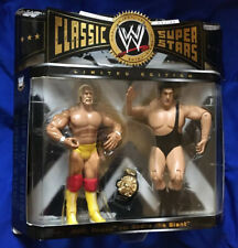 UK Exclusive - WWE Classic Superstars Hulk Hogan Vs Andre The Giant Figures