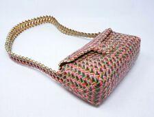 Designer Candy Gum Wrapper Purse Hand Made Folk Art Shoulder Bag Recycled 9X4