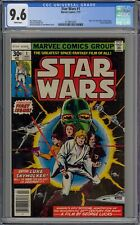 STAR WARS 1. CGC 9.6. 1ST STAR WARS IN COMICS. WHITE PAGES