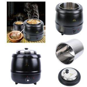 Suppenkessel 400W 10L Elektrisch Suppentopf Suppenkocher Suppenwärmer Kochtopf