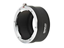 Leica SL T Adapter für R Objektive an SL CL. TL Kameras Novoflex LET/LER