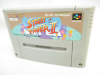 Super Famicom SUPER STREET FIGHTER II 2 Nintendo Cartridge Only sfc