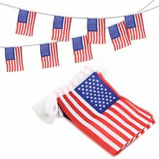 ANLEY USA American String Banners  Decoration Patriotic Events Independence Day