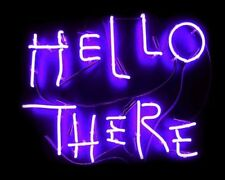 New Hello There Beer Bar Lamp Pub Neon Light Sign 19''X15""