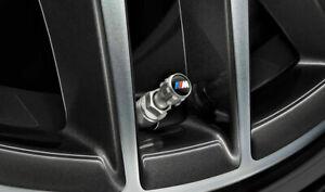 BMW M Performance 4x Valve Caps Dust Covers (RRP £18.20) 36122447402