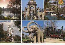 BF12674 barcelona train elephant spain  front/back image