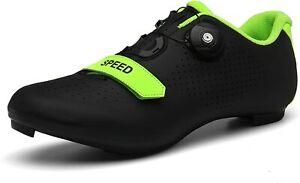 Men's Road Bike Cycling Shoes Peloton Shoe for Men Bicycle Shoes Compatible