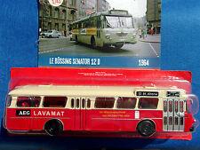 n° 57 BÜSSING SENATOR 12 D Autobus et Autocar du Monde an. 1964 1/43 Neuf NEW