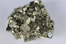 58) Pyrite Crystal Cube Formation Fools Gold Iron Great Gift - High Grade PERU