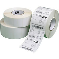 NEW! Zebra Z-Perform Thermal Label Permanent Adhesive 102 Mm Width X 102 Mm Leng