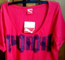 Bnwt PUMA womens  T-shirt top with logo print S 10