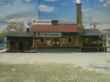 HO scale Brewery lightly weathered, detailed Model Power