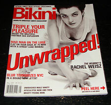 BIKINI magazine #43 1999, Rachel Weisz, Blur, Seth Green, Ione Skye, Steve Irwin