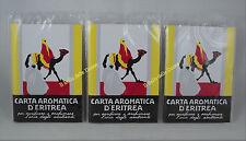 CARTA Aromatica ERITREA 72 listelli profumo ambienti n°3 confezioni da 24 liste