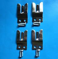 4 MICROPHONE HOLDER FORK MIC CLIP - 2 WAY TAXI RADIO CB MC1
