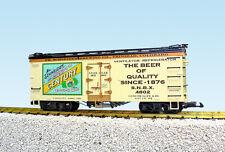 USA Trains G Scale U.S. REEFER CAR R16445 Century Beer – Green/Dark Green