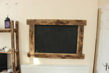 Large Driftwood Cafe Chalkboard